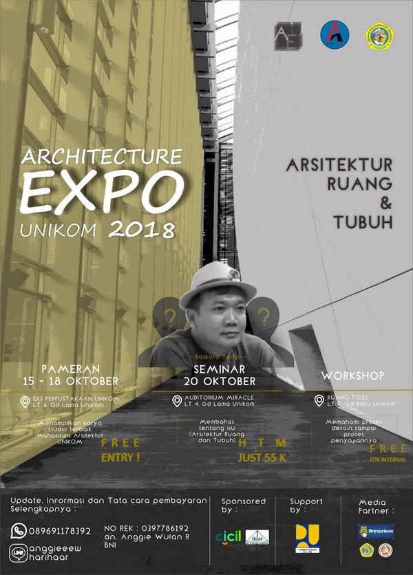 Arsitektur Unikom Expo 2018