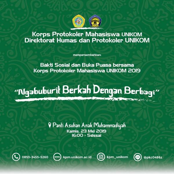 Bakti Sosial KPM Unikom 2019