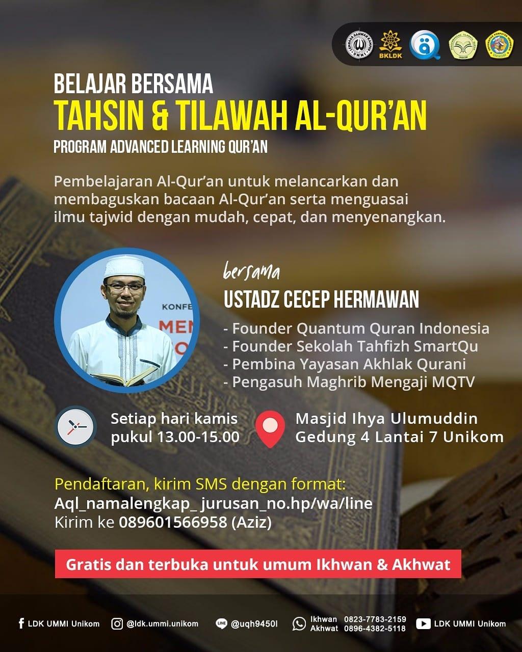 Belajar membaca Al Qur'an dengan mudah, cepat dan menyenangkan