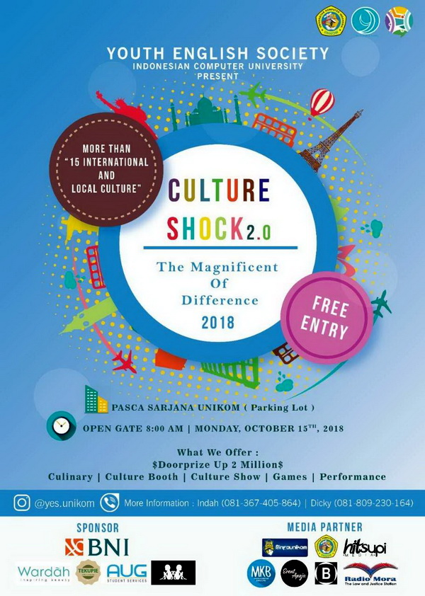 "Culture Shock 2.0 ""The Magnificent of Difference"" 2018"