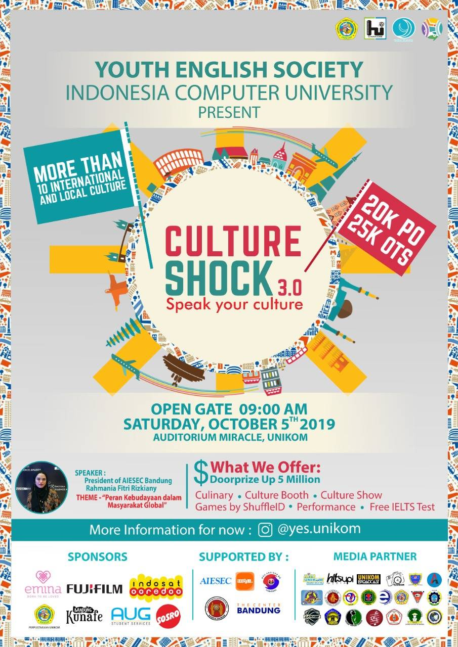 Culture Shock 3.0 'Speak Your culture'