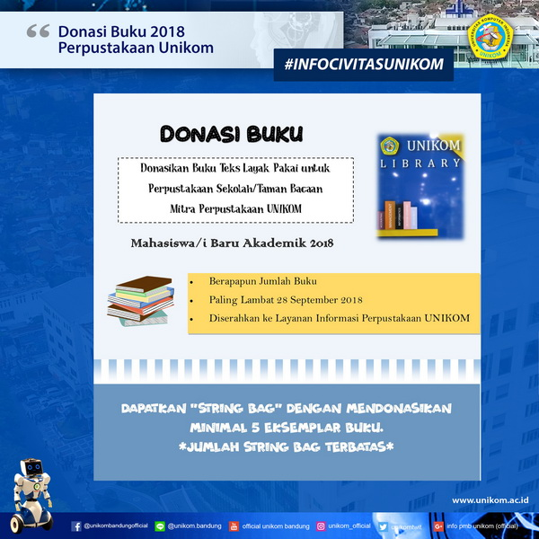Donasi Buku 2018