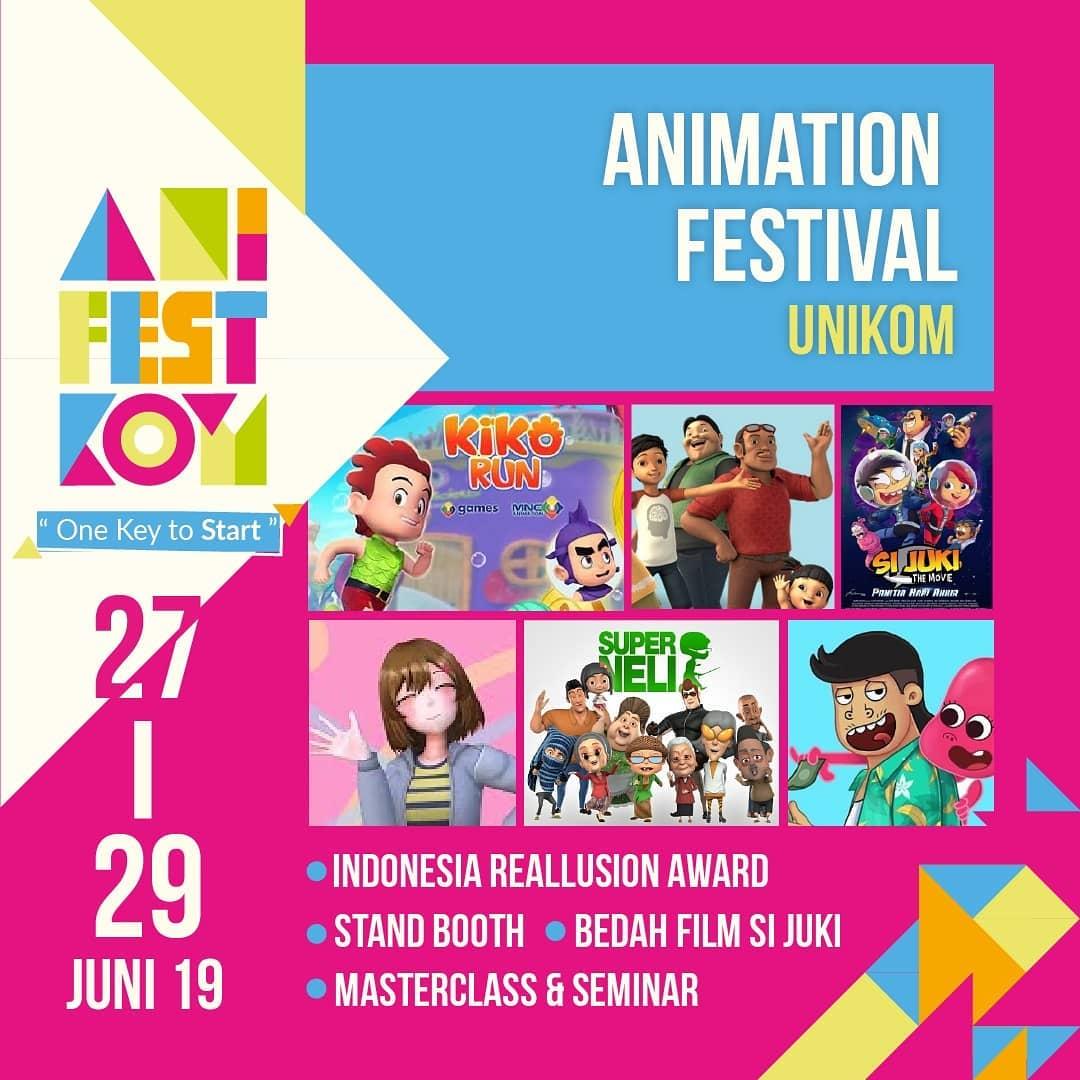 Festival Animasi UNIKOM (AniFestKom) 2019