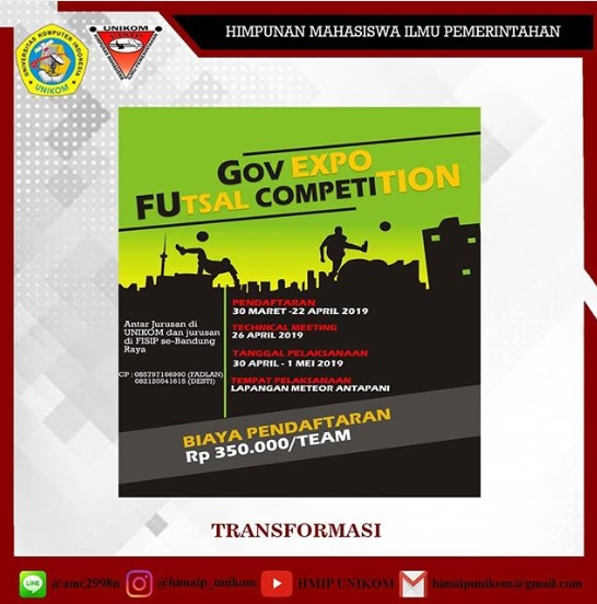 Gov Expo Futsal Competition 2019