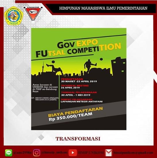 Gov Expo Futsal Competition 2019