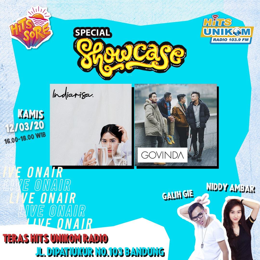 Hits Sore Special Showcase bersama Indiarisa & Govinda