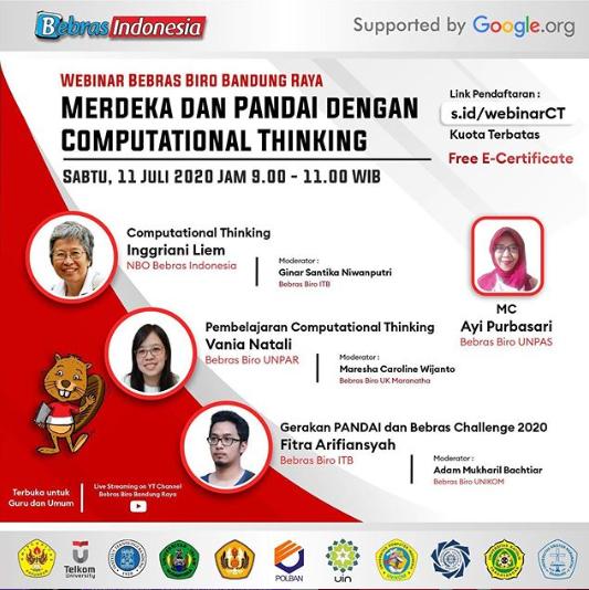 Info Kegiatan Webinar Bebras Biro Bandung Raya