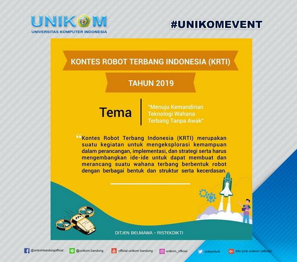 Info Kontes Robot Terbang Indonesia Tahun 2019
