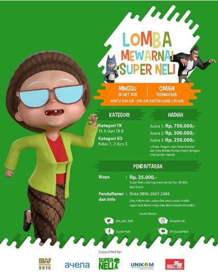 Info Lomba Mewarnai Super Neli