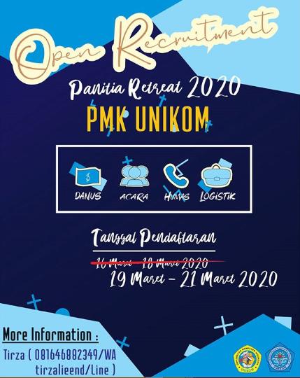 Info Open Recruitment Panitia Retreat PMK