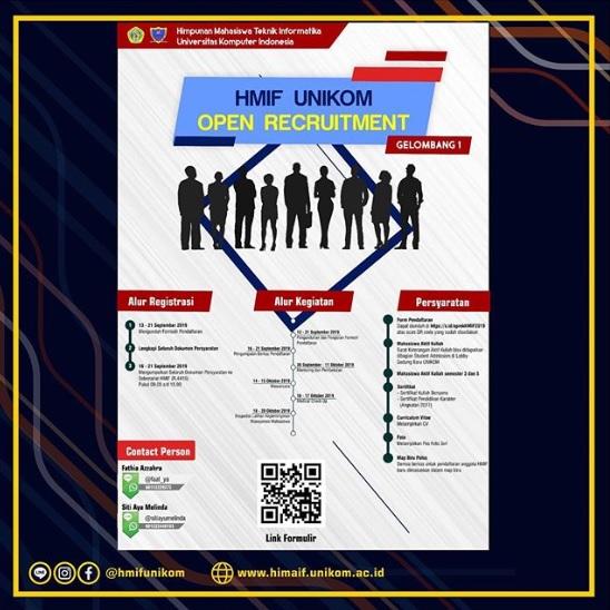 Info Rekrutmen Himpunan Mahasiswa Teknik Informatika 2019 - Gelombang I