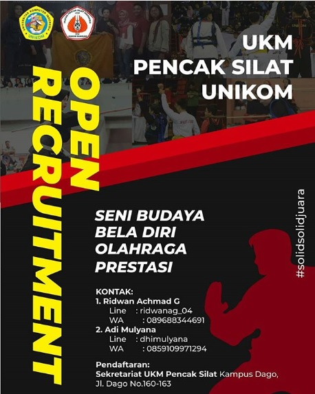 Info Rekrutmen UKM Pencak Silat Unikom 2019