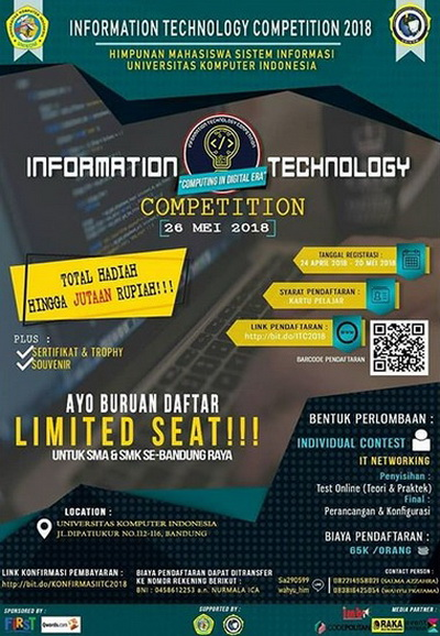 Information Technology Competition 2018