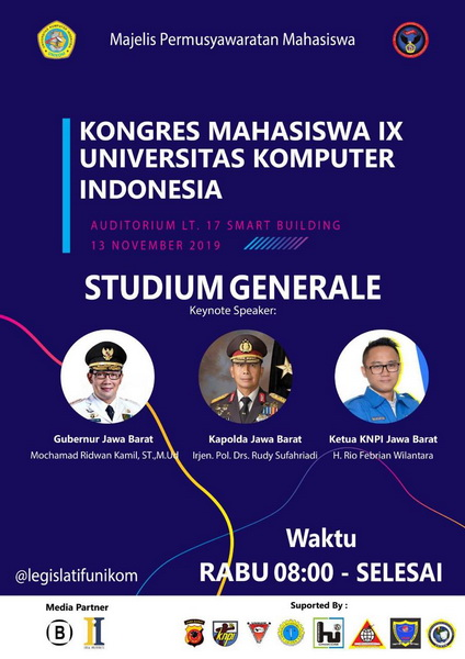 Kongres Mahasiswa IX Universitas Komputer Indonesia