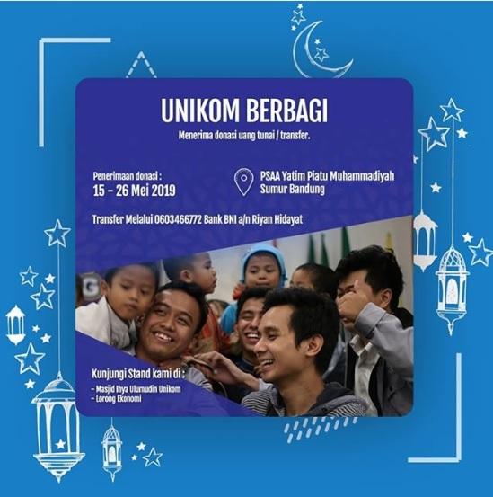 LDK Ummi Unikom : Unikom Berbagi