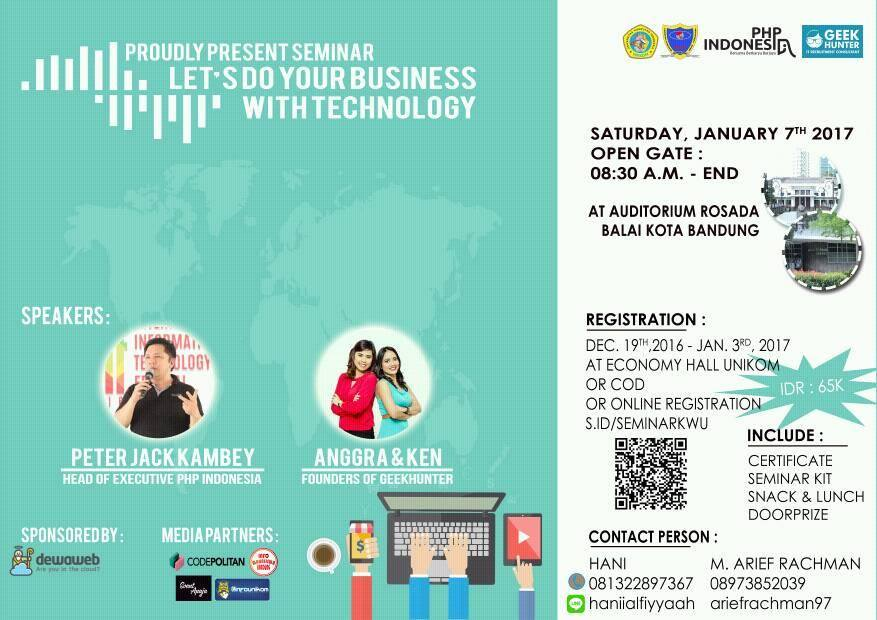 Let's Do Your Business With Technology