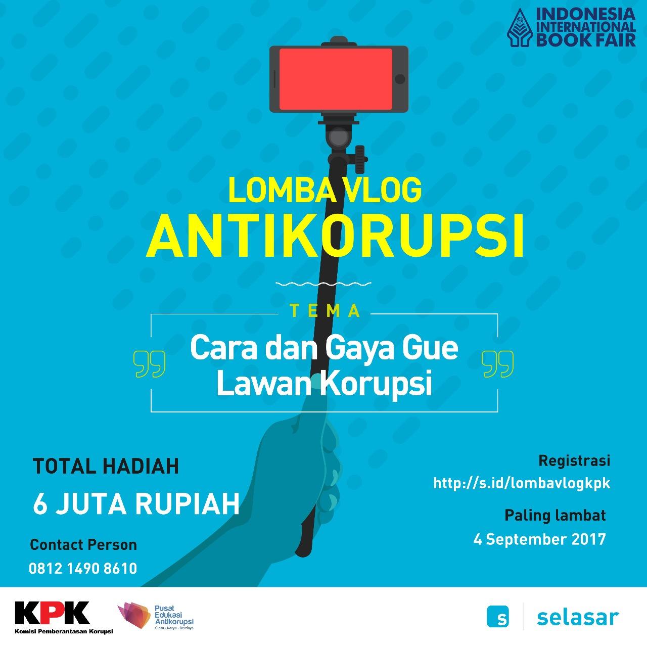 Lomba Vlog Anti Korupsi
