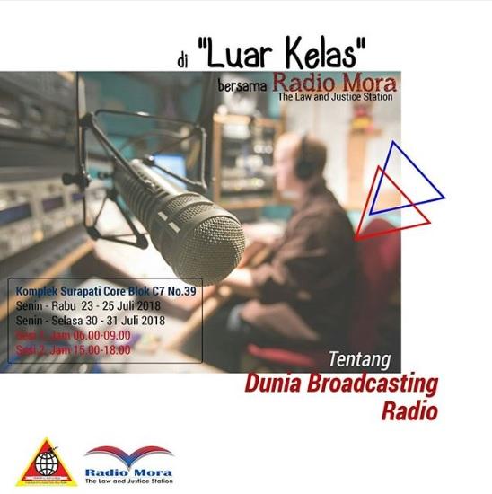"""Luar Kelas"" Bersama Radio Mora"