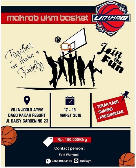 Malam Keakraban UKM Basket Unikom