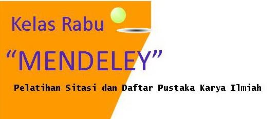 Mendeley - Pelatihan Sitasi dan Daftar Pustaka Karya Ilmiah