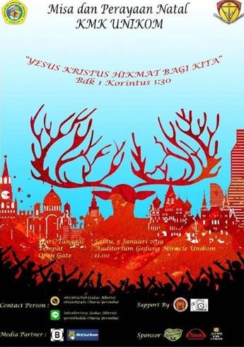 Misa dan Perayaan Natal 2018 KMK Unikom