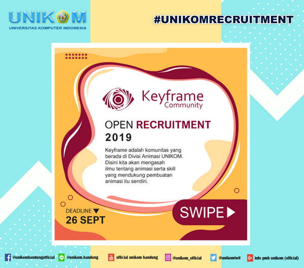 Open Recruitment : Keyframe Community 2019