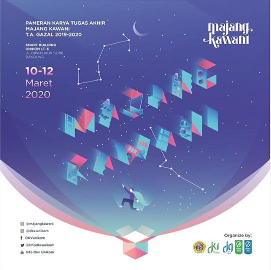 """Pameran """"Majang Kawani"""" Semester Gazal Tahun Akademik 2019/2020"""