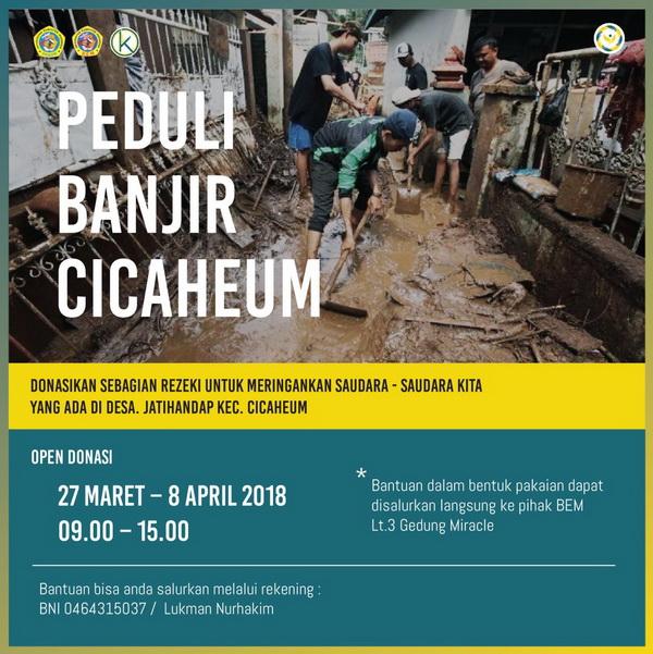 Peduli Banjir Cicaheum
