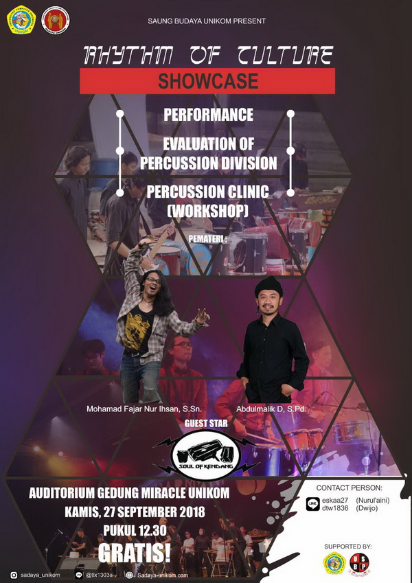 """Rhythm of Culture """"Showcase"""" Sadaya Unikom"""