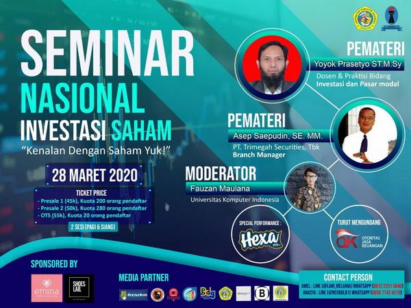 Seminar Nasional 2020 - Investasi Saham