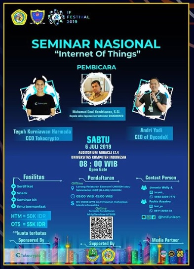 Seminar Nasional 'Internet of Things' 2019