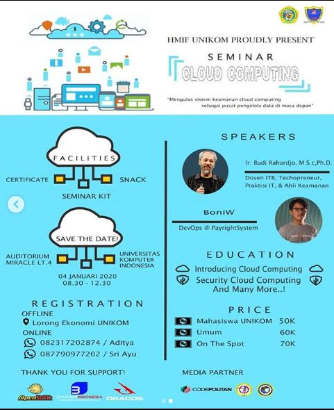 Seminar Teknologi : Cloud Computing