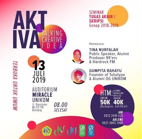 Seminar Tugas Akhir/Skripsi 'Aktiva'