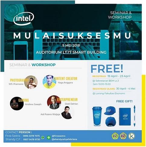 Seminar & Workshop : Mulai Suksesmu