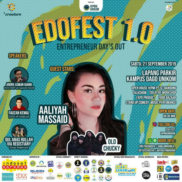 "The 1st  Entrepreneur Day's Out ""Edofest"" 2019"