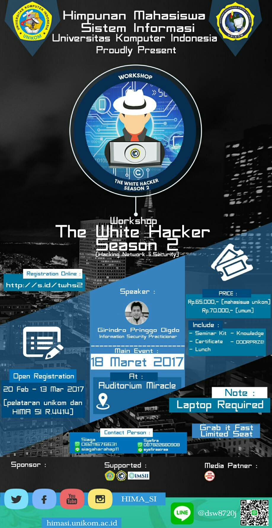 THE WHITE HACKER SEASON 2