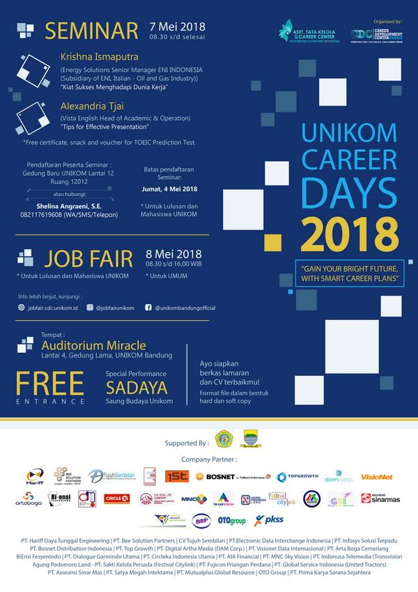 Unikom Career Days - Job Fair 2018