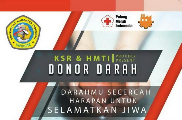 UNIKOM DONOR 2018 : Darahmu Secercah Harapan untuk Selamatkan Jiwa