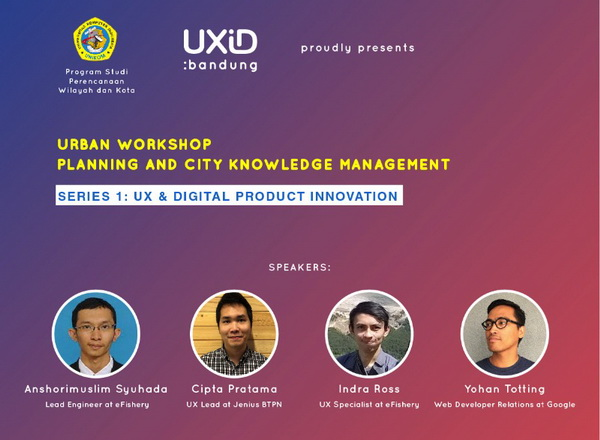 Urban Workshop-Planning and City Knowledge Management Series