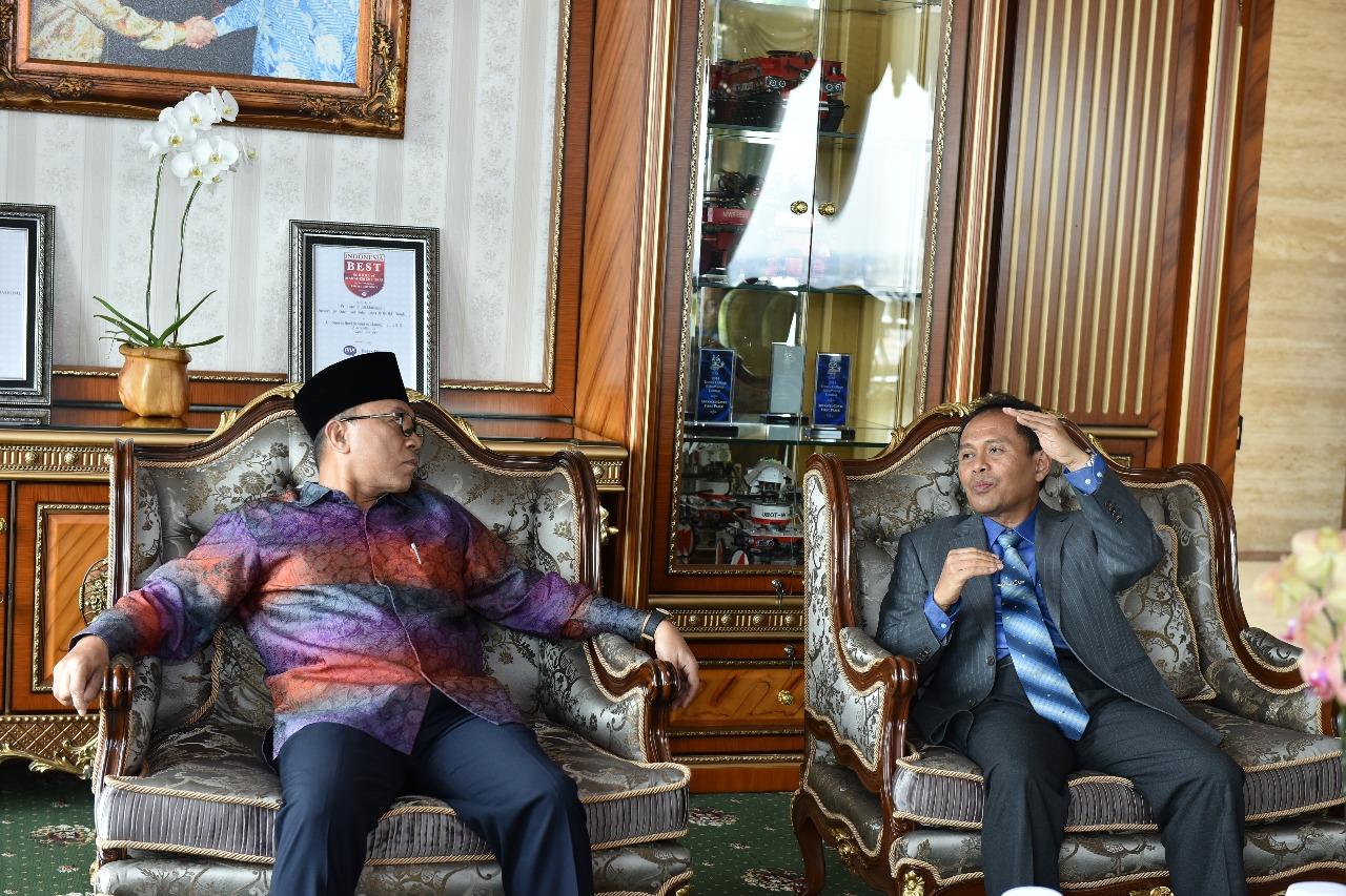Kunjungan Ketua MPR Dr. Zulkifli Hasan (Foto ke-2)