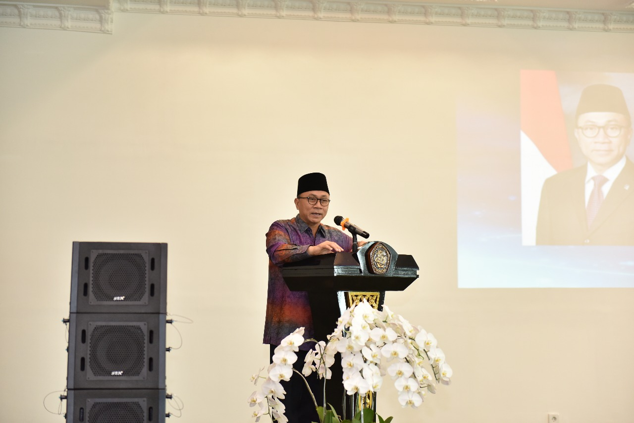 Kunjungan Ketua MPR Dr. Zulkifli Hasan (Foto ke-6)