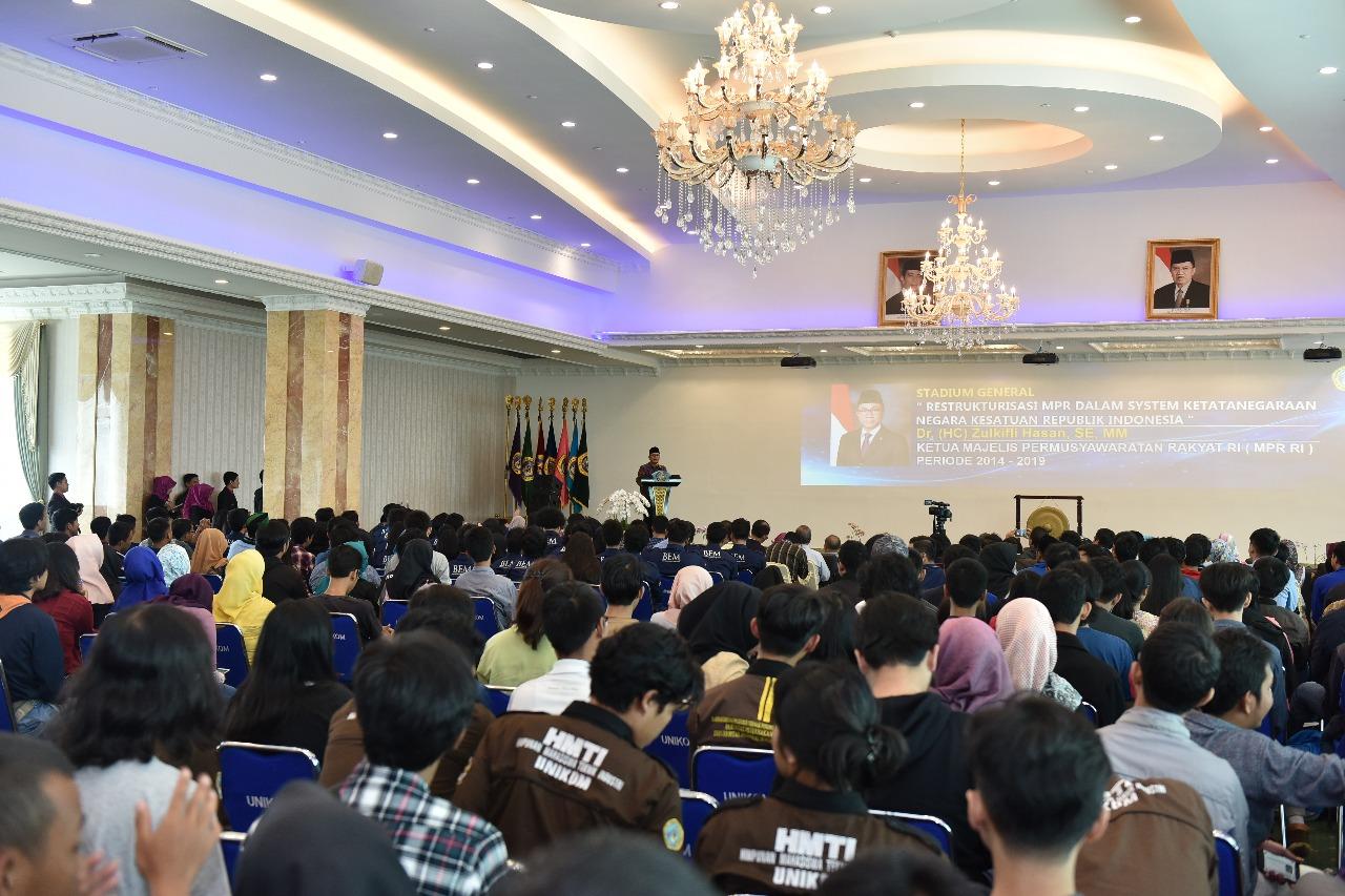 Kunjungan Ketua MPR Dr. Zulkifli Hasan (Foto ke-7)