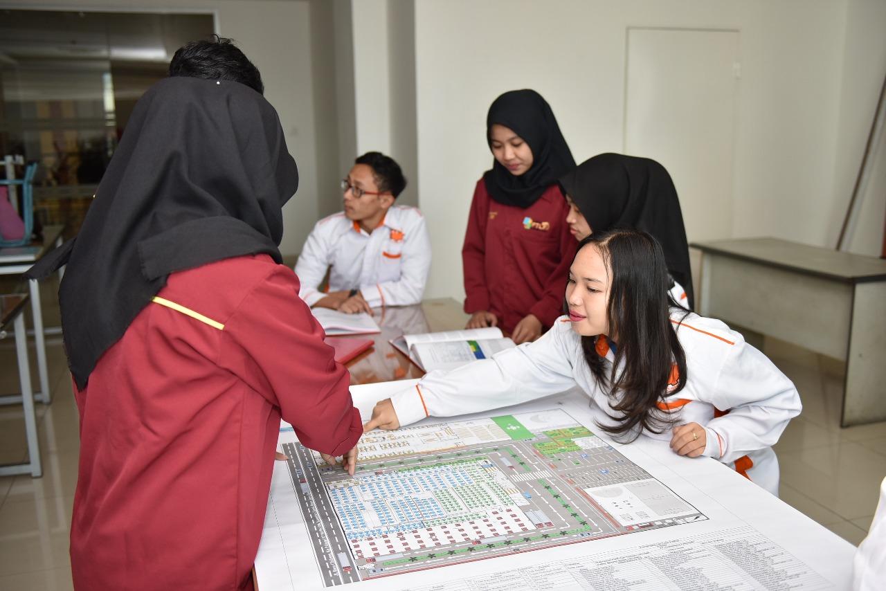 Ruangan Lab Perancangan Tata Letak Fasilitas Teknik Industri 3