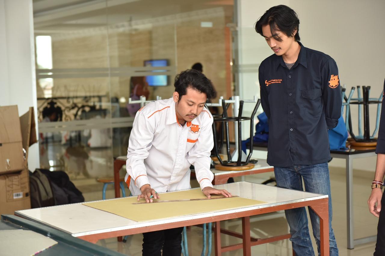 Ruangan Lab Sistem Produksi Teknik Industri 1