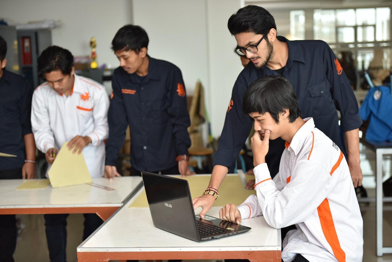 Ruangan Lab Sistem Produksi Teknik Industri 2